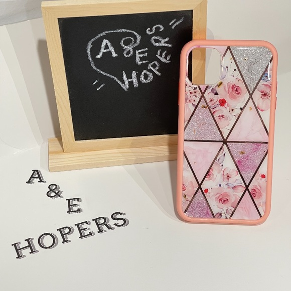 Heavy duty design case for iPhone 11 (pink)